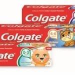 Colgate Kids Toothpaste Range