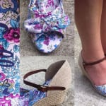 Review – Lilley Womens Floral Wedge Sandal with Bow from Shoe Zone