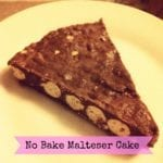 No Bake Malteser Cake Recipe