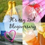 Happy 2nd Blogiversary to Me!