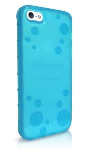 BioArmor iPhone Back Quarter Right BLUE