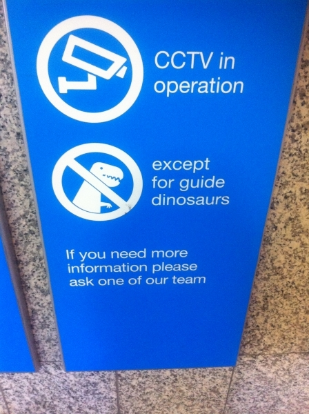 Except Dinosaurs