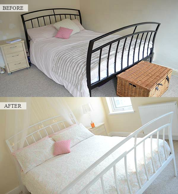 BEFORE AND AFTER ROOM 1