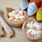 Savoury Breakfast Cups with Tabasco