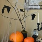 DIY HALLOWEEN TREE TUTORIAL