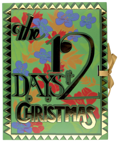 Lush 12 Days Of Cchristmas Advent Calendar 2015