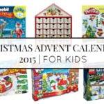 CHRISTMAS ADVENT CALENDARS 2015 | FOR KIDS