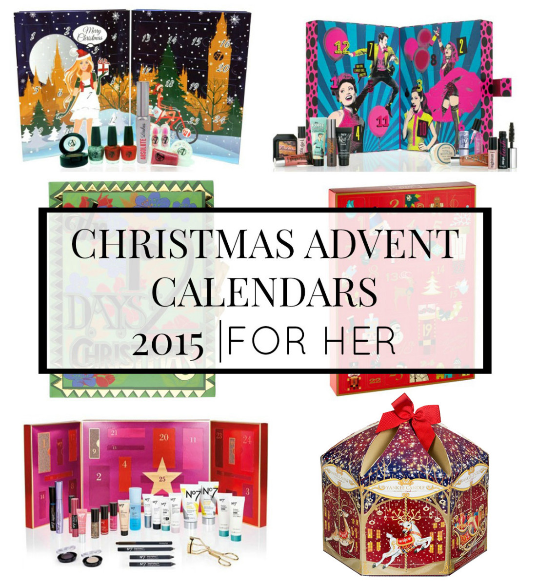 Top Beauty Advent Calendar 2015