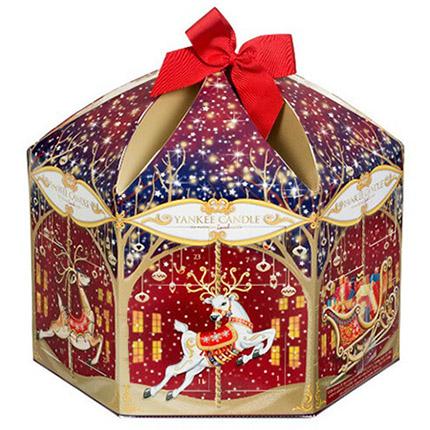 Yankee Reindeer Carousel Advent Calendar