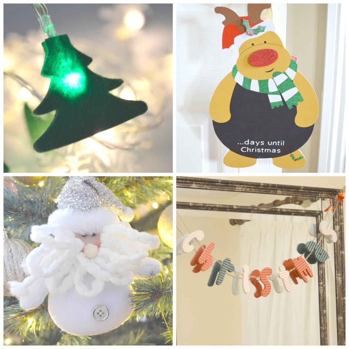Home Bargains Christmas Range