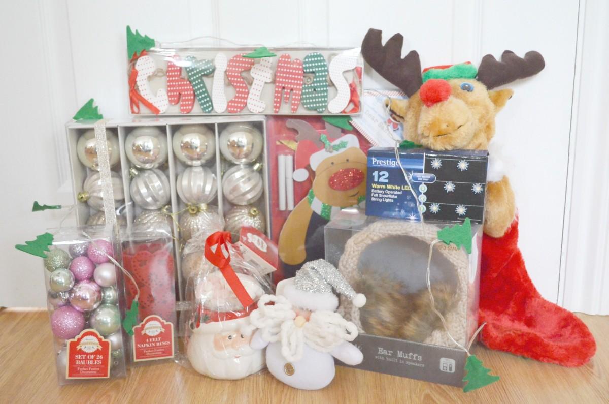 Home Bargains Christmas Selection