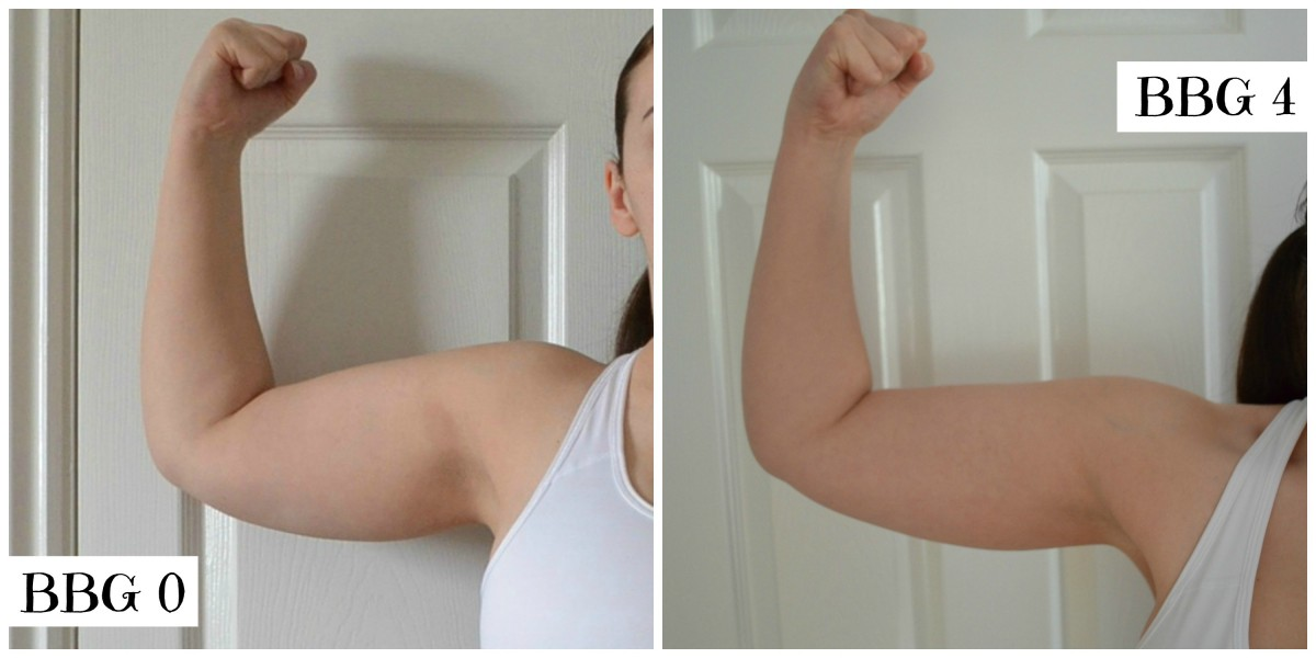 BBG before and after arms
