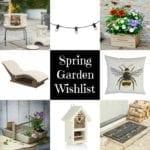 Spring Garden Wishlist