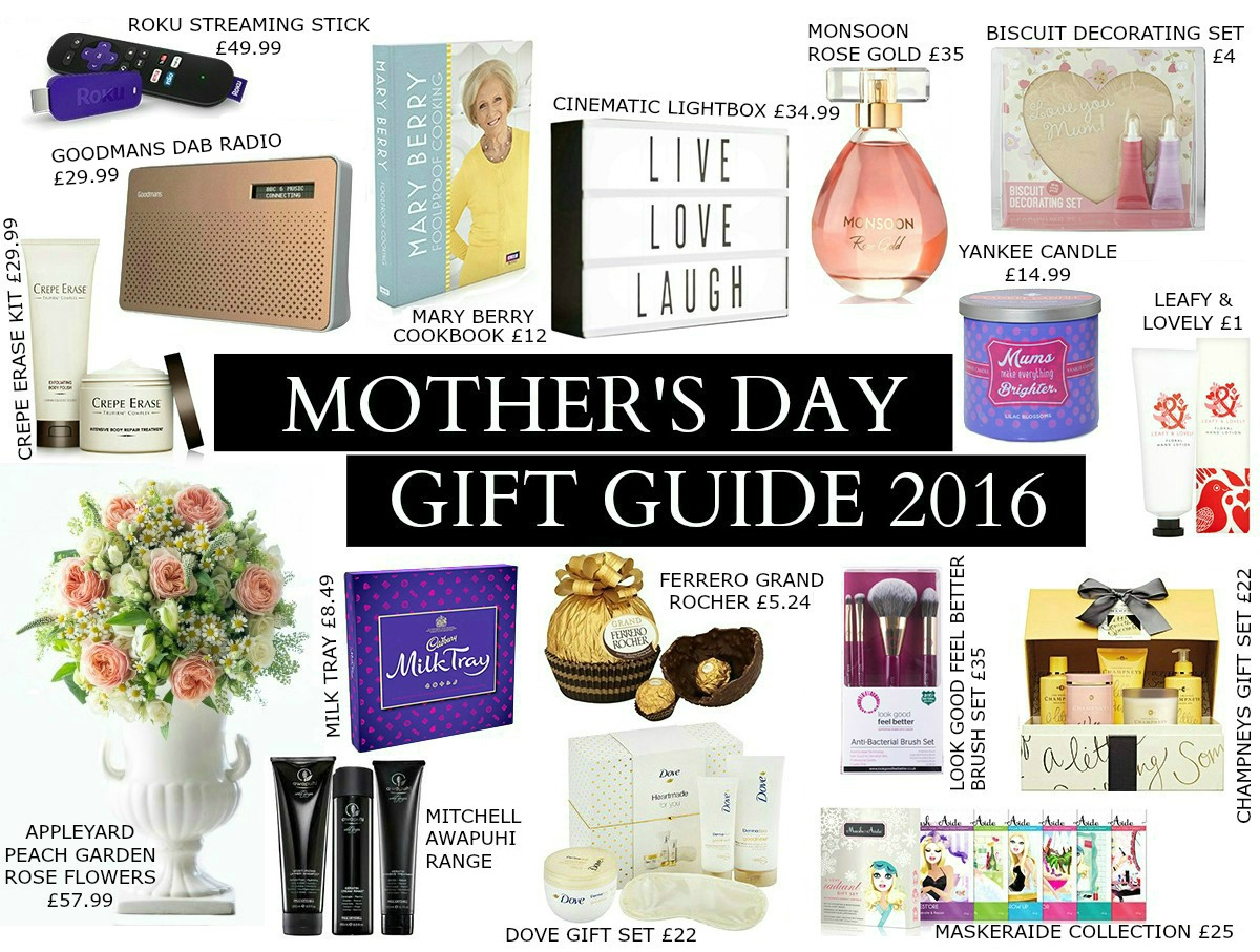 2016 Mother's Day Gift Guide - Lindy Loves TEXTY DONE44444