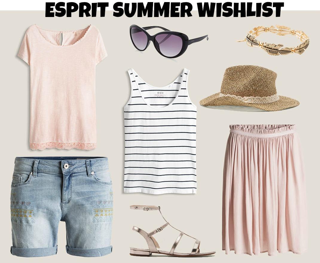 ESPRIT WISHLIST FOR SUMMER 2016
