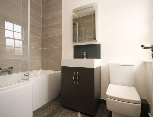 Storage hacks for a small bathroom