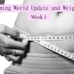 Slimming World Update and Weigh In – Week 1