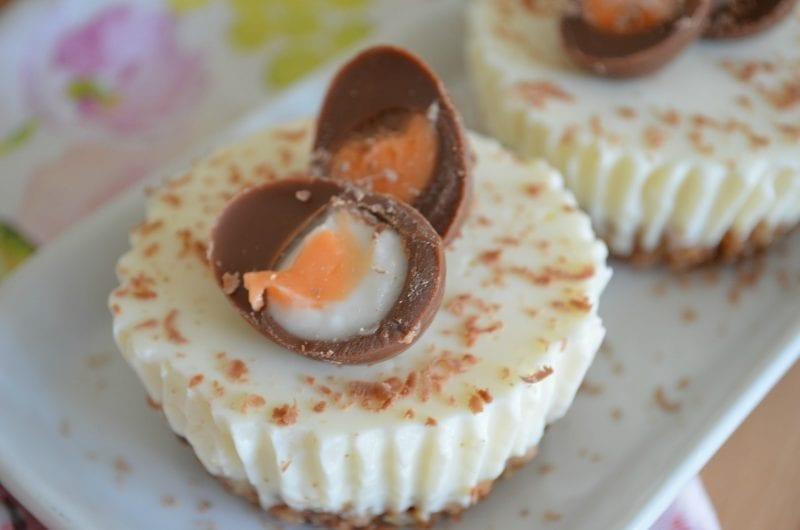Slimming World Creme Egg Cheesecake